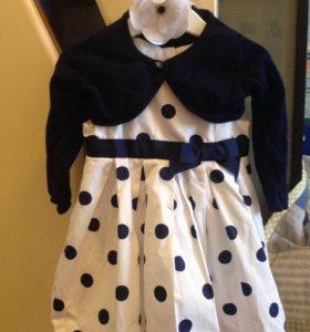 Платье детское с балеро Cool Club