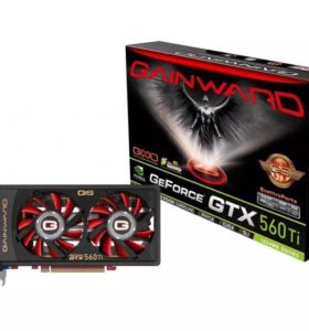 Gainward nVIDIA GeForce GTX 560 Ti.