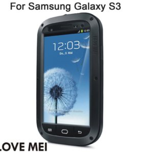 Для Samsung S3 - Love Mei противоударный чехол