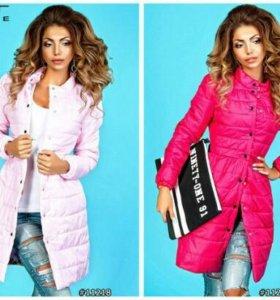Куртка светло розовая