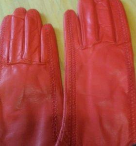 Новые кожаные перчатки 8