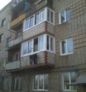 Теплый и красивый балкон