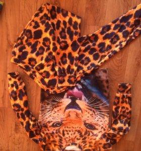 Новый леопардовый костюм