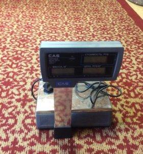 Весы торговые со стойкой CAS ER-15 CP