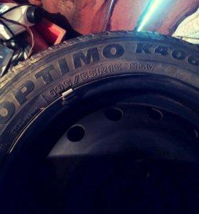 Продам шины OPTIMO K406 Hankook 195/55R15