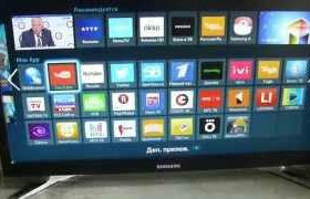 Телевизор samsung wifi smart tv 22 дюйма