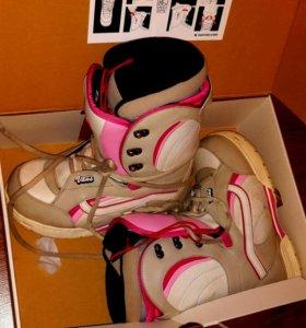Ботинки Vans женские для сноуборда