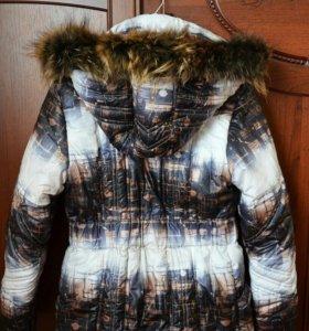 Зимний пуховик для девочки.
