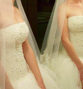Счастливое свадебное платье!
