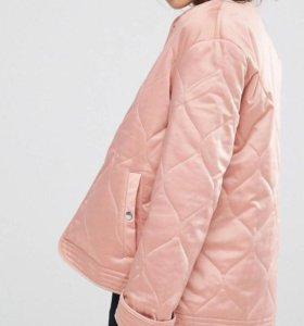 Стеганая куртка новая asos
