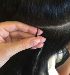 Коррекция нарощенных волос,выезд,опыт