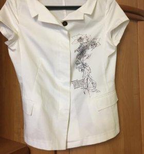 Белая блуза Elis