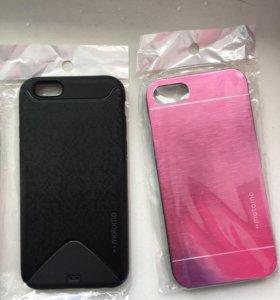 Бампера, стекла, пленки, зарядки для iPhone 5,6