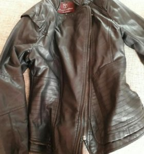 Куртка кожзам 42 размер