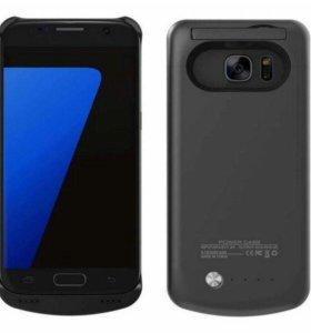 Чехол аккумулятор для Samsung S7 (4200 мАч