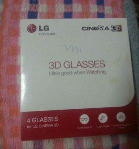 3D очки на телевизор LG