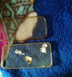 2 чехла на iPhone 5s