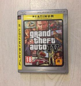 Игра GTA IV на PlayStation 3