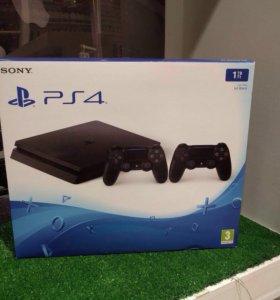 PlayStation4 slim 1Tb, 2DualShock
