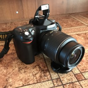 Фотоаппарат Nikon D50 kit (Объектив 18-55mm)