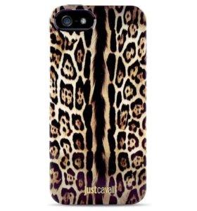 Чехол iPhone 5/5s леопард