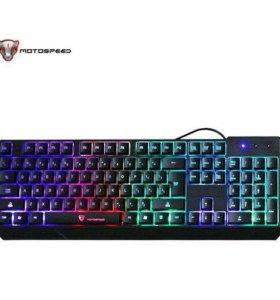 Игровая клавиатура MotoSpeed K70 новая