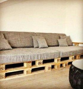 Мебель из палетов (поддонов)