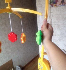 Механический мобиль ( бабочки ) мир детства