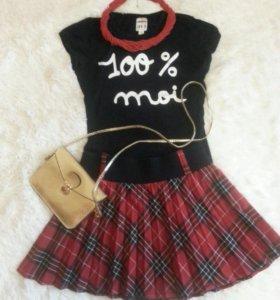 ADILISK юбка и футболка