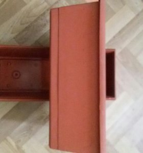 Балконные ящики с дренажной системой