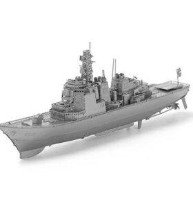 Сборная металлическая 3D модель- танк Тигр