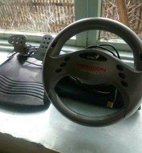 Руль и педали для Игр.89064688130