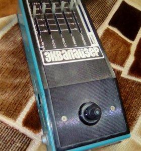 Гитарный аналоговый эквалайзер