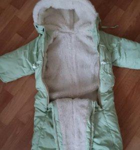 Продам комбинезон зимний(размер 86)