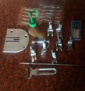 Лапки и иглы для швейной машинки