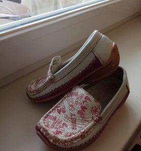 Туфли для девочки, р.25