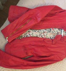 Кожаный пиджак/куртка Korakor (Италия)