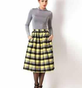 Новая шерстяная юбка Vika Smolyanitskaya