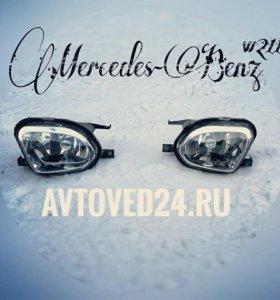 Mercedes-Benz w211 фара противотуманная оригинал