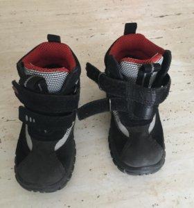Ботинки/сапожки на мальчика Ecco