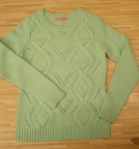 Бирюзово-мятный свитер из O'STIN