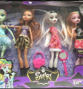 Набор кукол Charm Girls (аналог monster high)