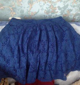 Шикарная кружевная юбка‼️обмен