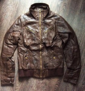 Куртка кожанка Seppala, р-р М