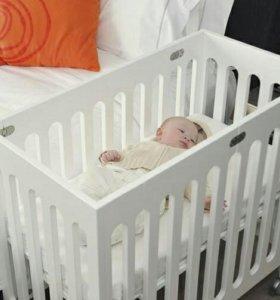 Компактная кроватка bloom alma mini