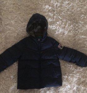 куртка бенетон на мальчика