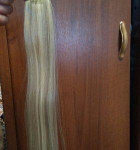 Продам накладные волосы на заколках