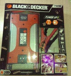Инвертор автомобильный BLACK&DECKER 12в 750w