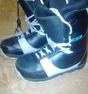 Ботинки сноубордические 39 р.р