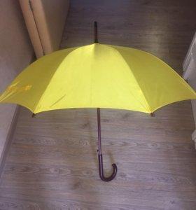 Зонт-трость! Новый, в упаковке!